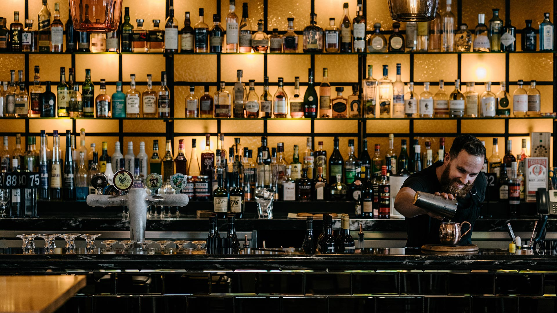 Tap Home Bartender Wide